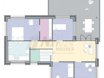NxtGen Houses NGH 130 first floor floorpan