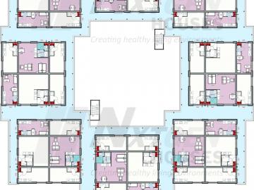 NGH 220 tiny houseblock campus floorplan first floor