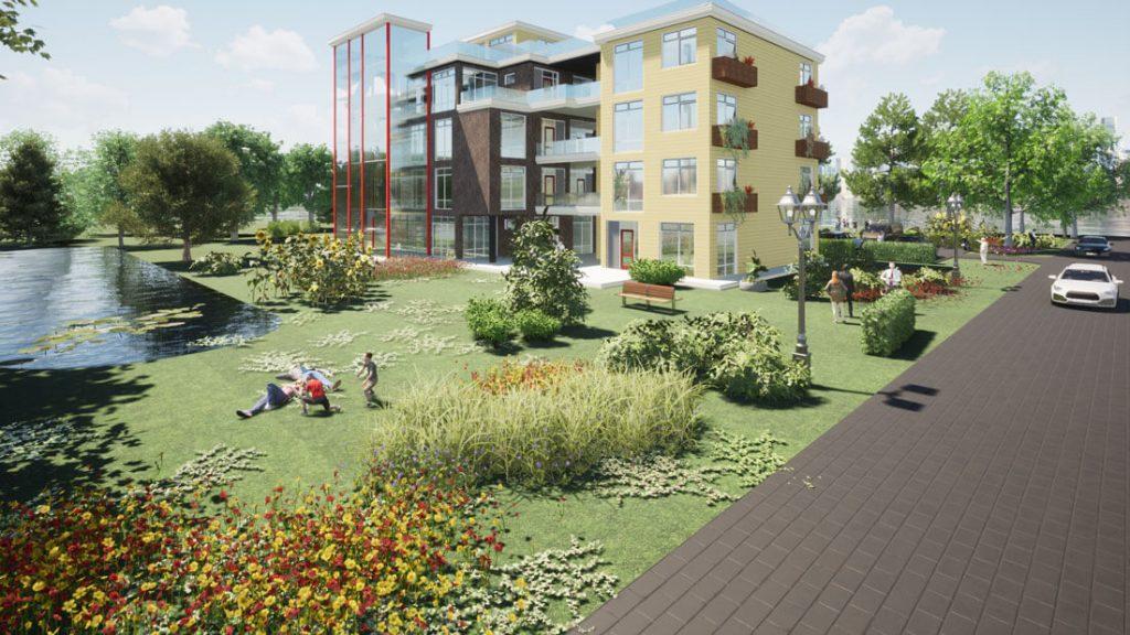 NGH Apartment Building Paris