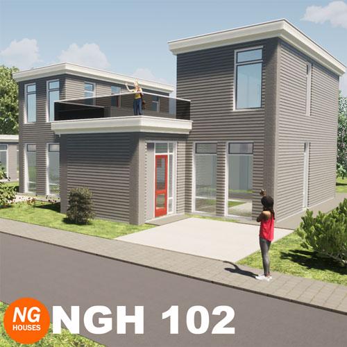 NxtGen Houses 102 vrijstaande woning