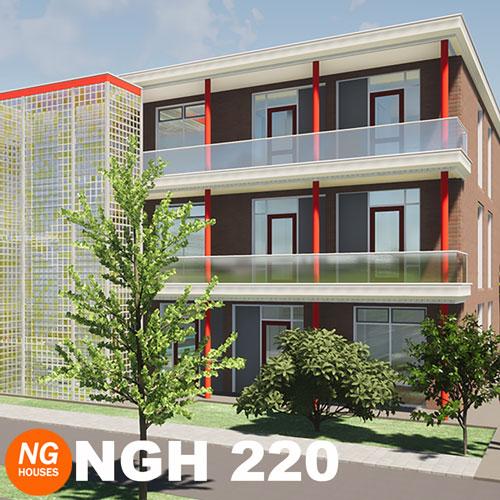 NxtGen Houses 220 galerij woningen