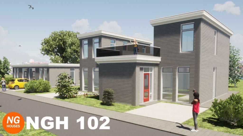 NxtGen Houses 102 woning met dakterras